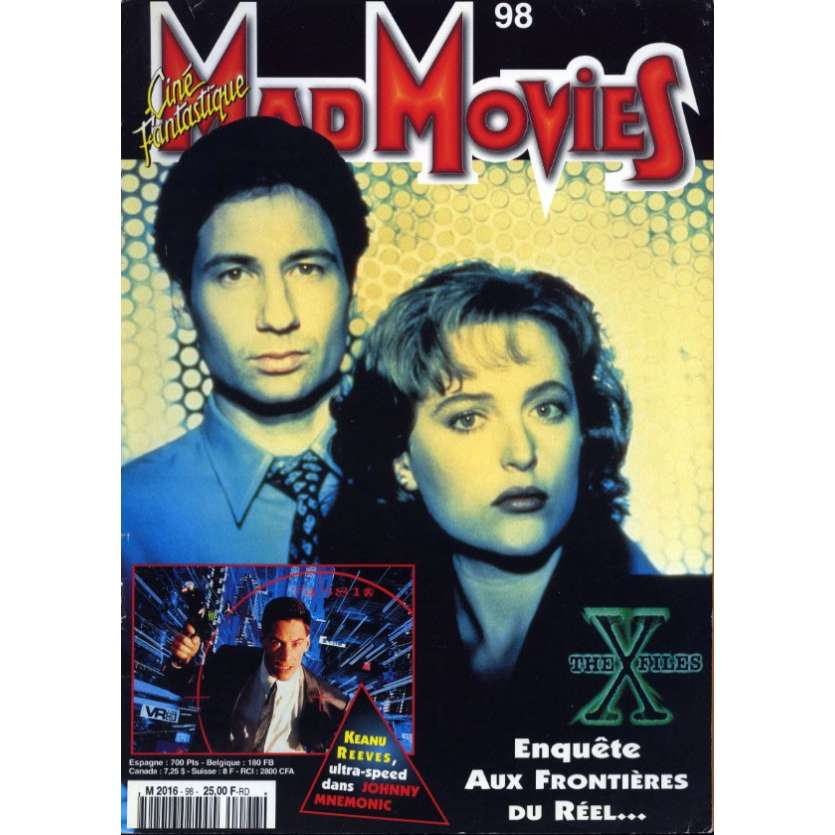 MAD MOVIES N°98 Magazine - 1996 - X-files