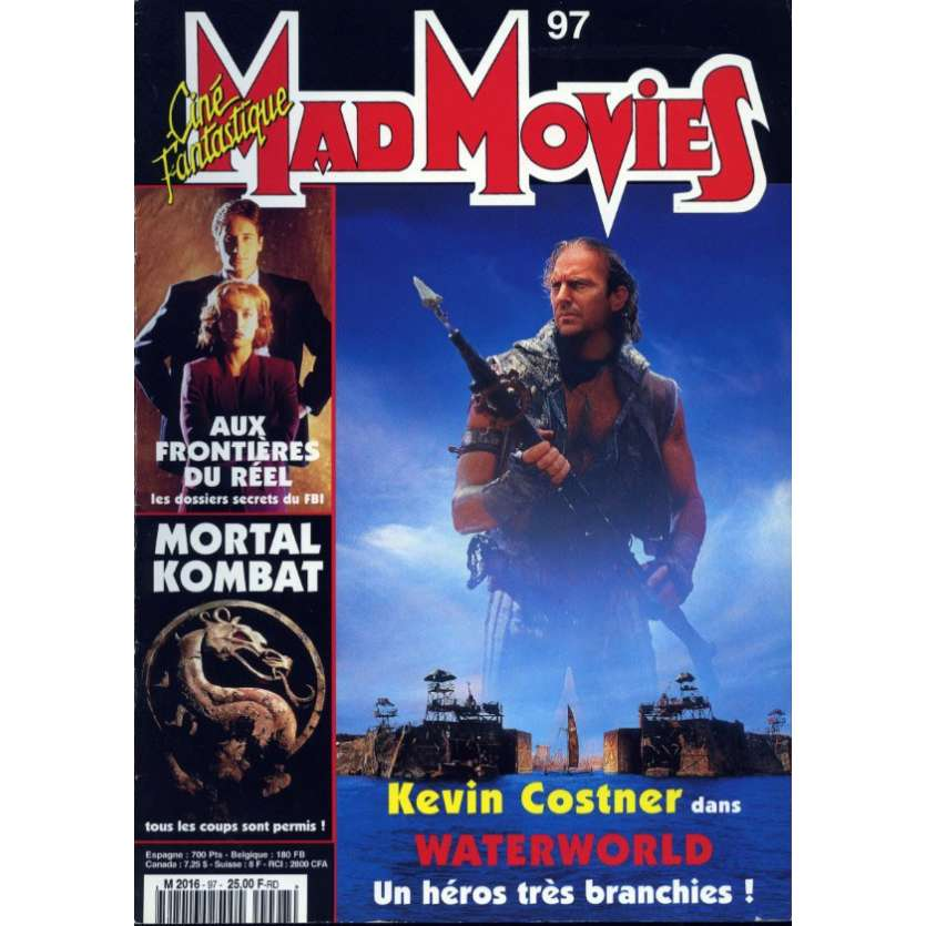 MAD MOVIES N°97 Magazine - 1995 - Waterworld