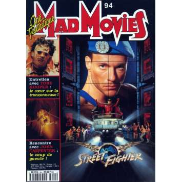 MAD MOVIES N°94 Magazine - 1993 - Street Fighter