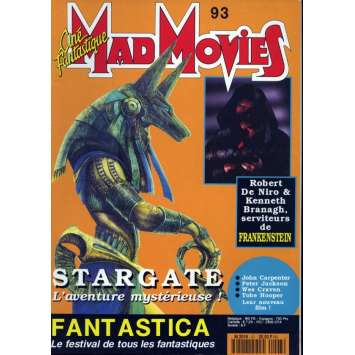 MAD MOVIES N°93 Magazine - 1993 - Stargate