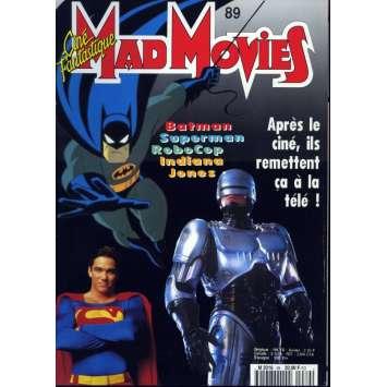 MAD MOVIES N°89 Magazine - 1994 - Super héros TV