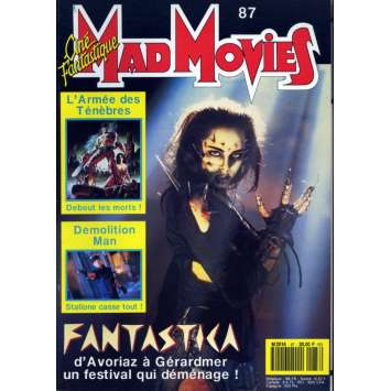 MAD MOVIES N°87 Magazine - 1993 - Retour des Morts Vivants