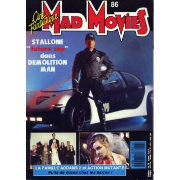 MAD MOVIES N°86 Magazine - 1993 - Demolition Man