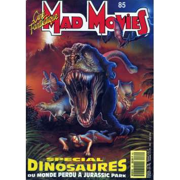 MAD MOVIES N°85 Magazine - 1993 - Dinosaures