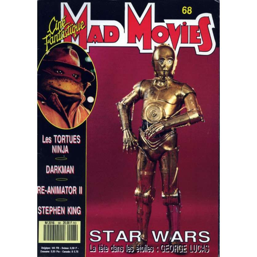 MAD MOVIES N°68 Magazine - 1990 - Star Wars