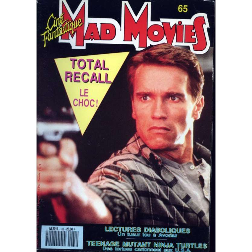 MAD MOVIES N°65 Magazine - 1990 - Total Recall