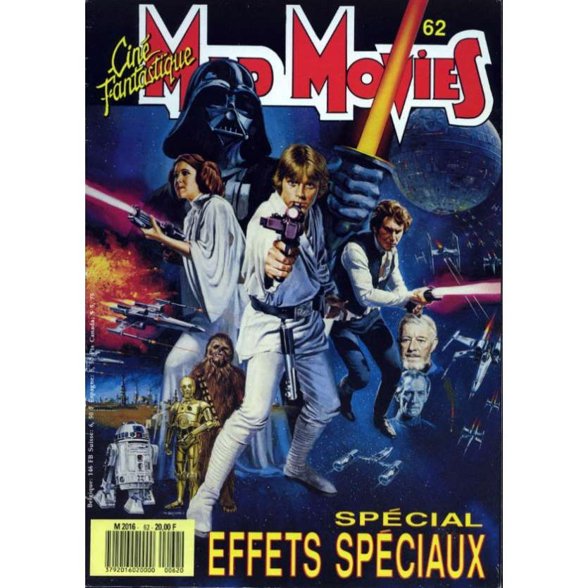 MAD MOVIES N°62 Magazine - 1990 - Star Wars