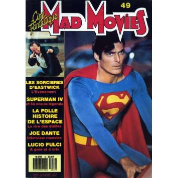 MAD MOVIES N°49 Magazine - 1988 - Superman