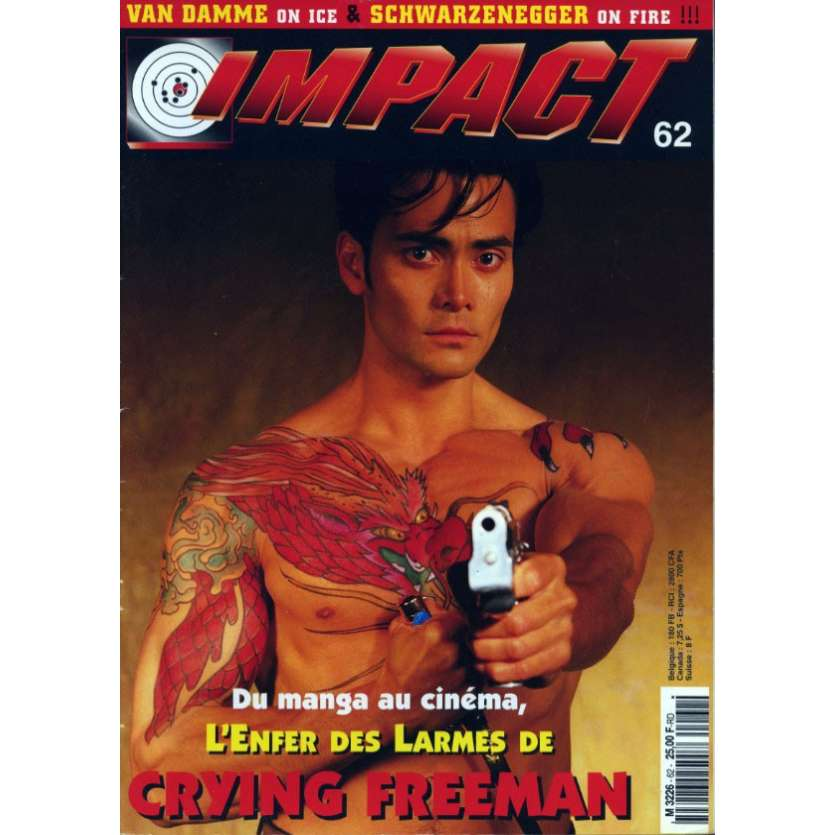 IMPACT N°62 Magazine - 1995 - Crying Freeman