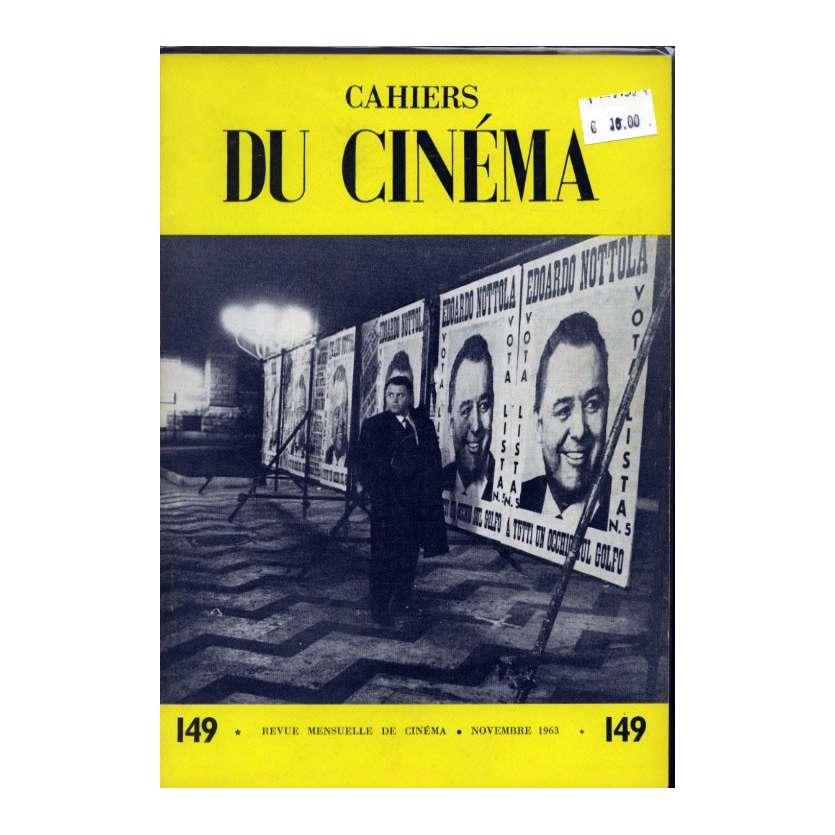 CAHIERS DU CINEMA N°149 Magazine - 1963 - Revue Mensuelle de cinéma