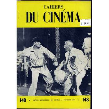 CAHIERS DU CINEMA N°148 Magazine - 1963 - John Wayne, Lee Marvin