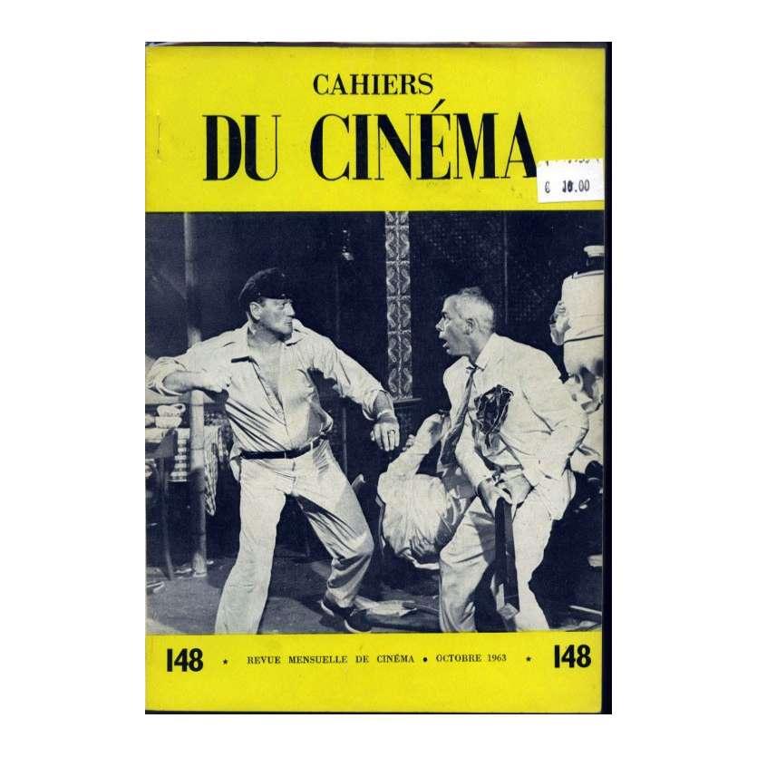 CAHIERS DU CINEMA N°148 Magazine - 1963 - John Wayne, Lee Marvin