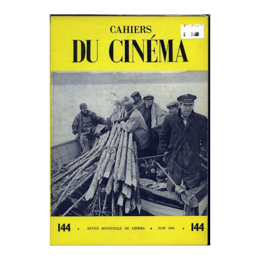 CAHIERS DU CINEMA N°144 Magazine - 1963 - Revue Mensuelle de cinéma
