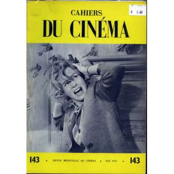 CAHIERS DU CINEMA N°143 Magazine - 1963 - Revue Mensuelle de cinéma