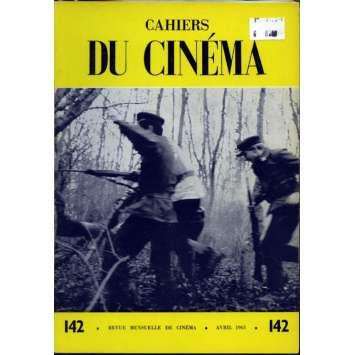 CAHIERS DU CINEMA N°142 Magazine - 1963 - Revue Mensuelle de cinéma