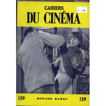 CAHIERS DU CINEMA N°139 Magazine - 1962 - Howard Hawks
