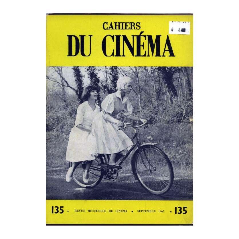 CAHIERS DU CINEMA N°135 Magazine - 1962 - Revue Mensuelle de cinéma