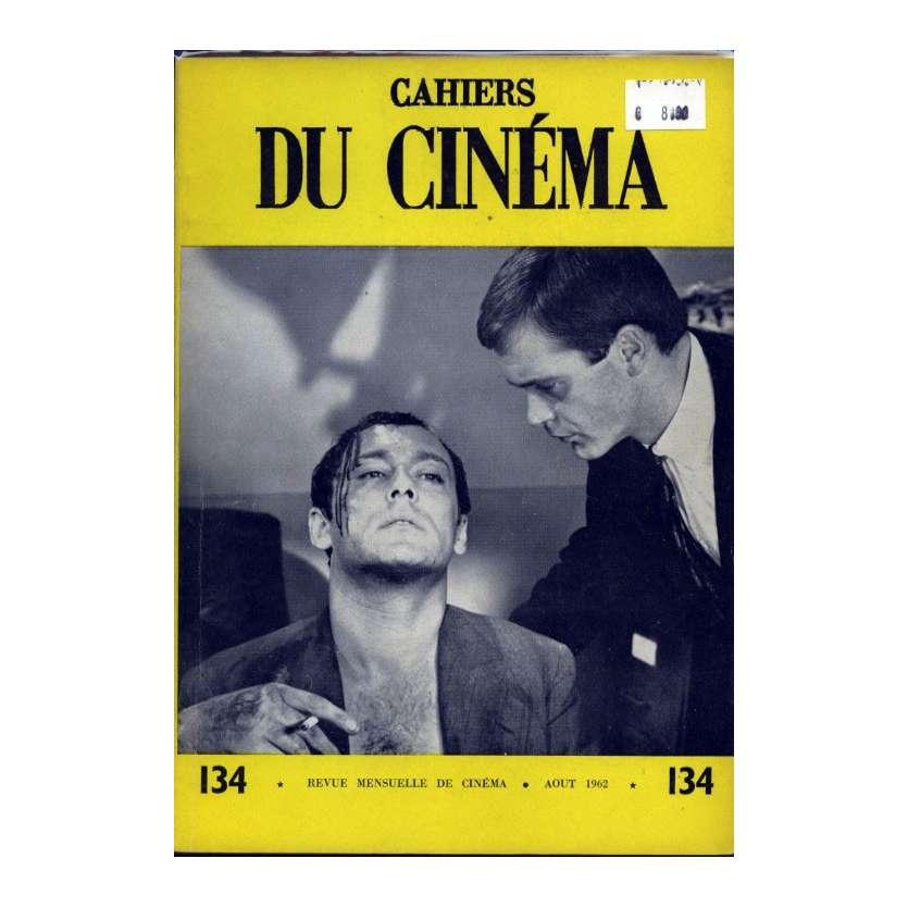 CAHIERS DU CINEMA N°134 Magazine - 1962 - Revue Mensuelle de cinéma