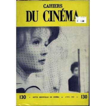 CAHIERS DU CINEMA N°130 Magazine - 1962 - Revue Mensuelle de cinéma