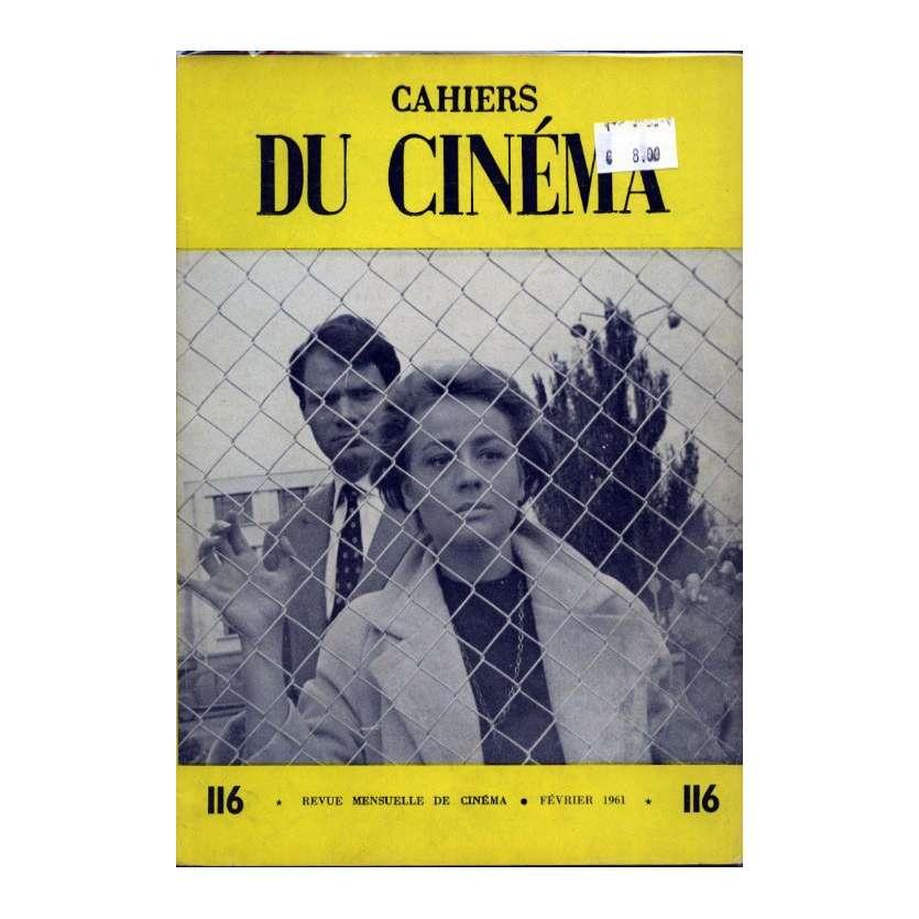 CAHIERS DU CINEMA N°116 Magazine - 1961 - Annie Girardot