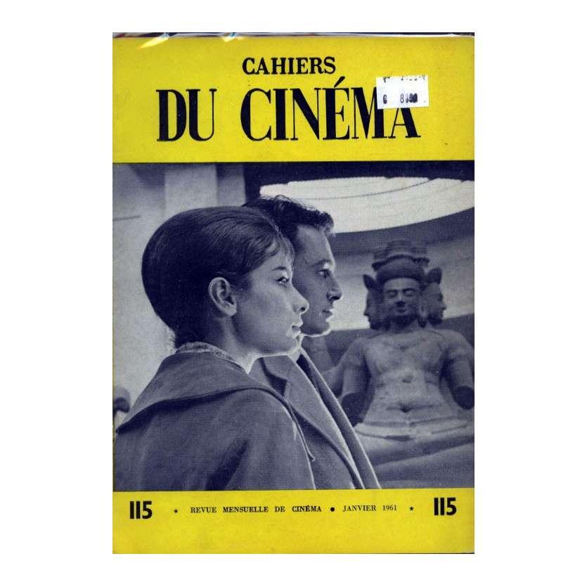 CAHIERS DU CINEMA N°115 Magazine - 1961 - Revue Mensuelle de cinéma