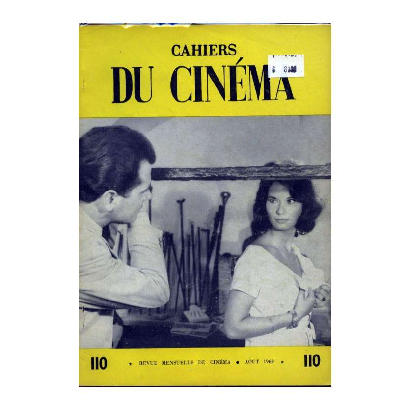 CAHIERS DU CINEMA N°110 Magazine - 1960 - Revue Mensuelle de cinéma