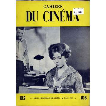 CAHIERS DU CINEMA N°105 Magazine - 1960 - Revue Mensuelle de cinéma