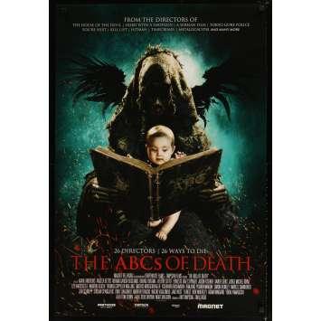 ABC OF DEATH Affiche de film 69x102 - 2012 - Ingrid Bolso Berdal, Xavier Gens
