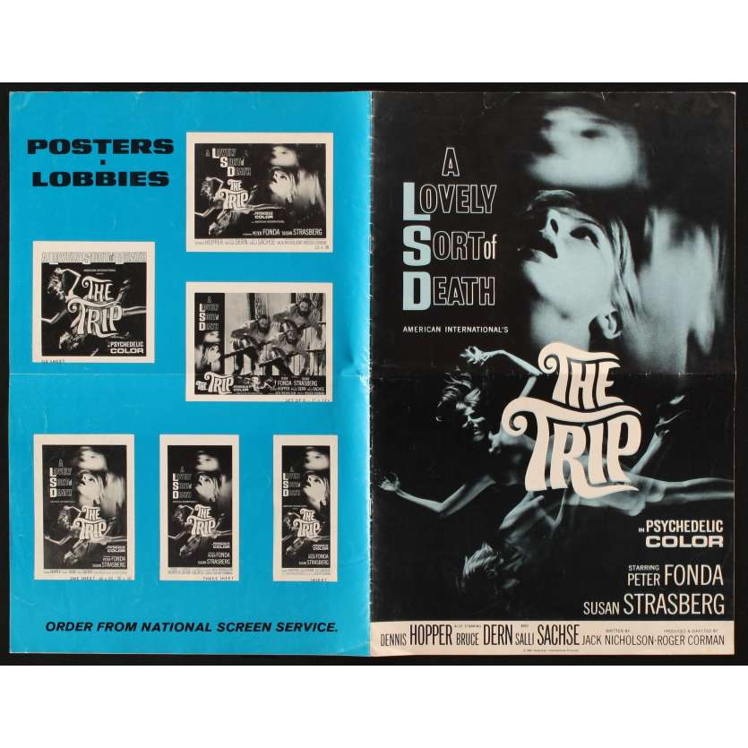 THE TRIP US Pressbook 11x17 - 1967 - Roger Corman, Dennis Hopper
