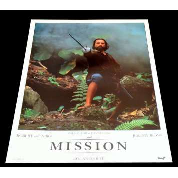 MISSION French DeLuxe Lobby Card 13 11x15 - 1986 - Roland Joffé, Robert de Niro