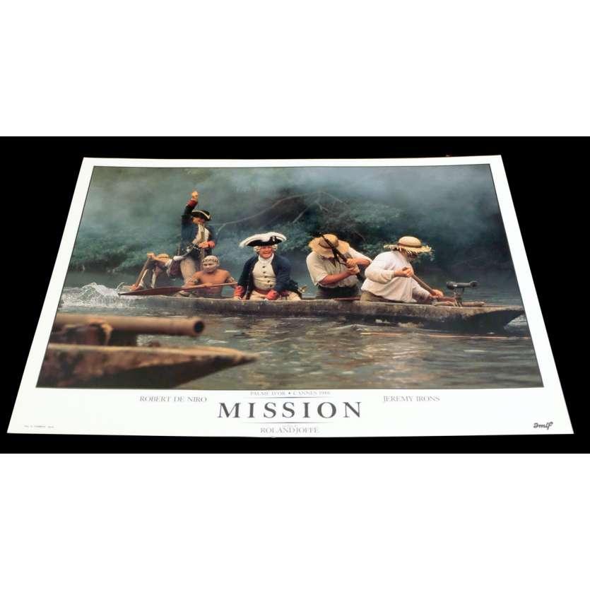 MISSION Photo Luxe 7 30x40 - 1986 - Robert de Niro, Roland Joffé