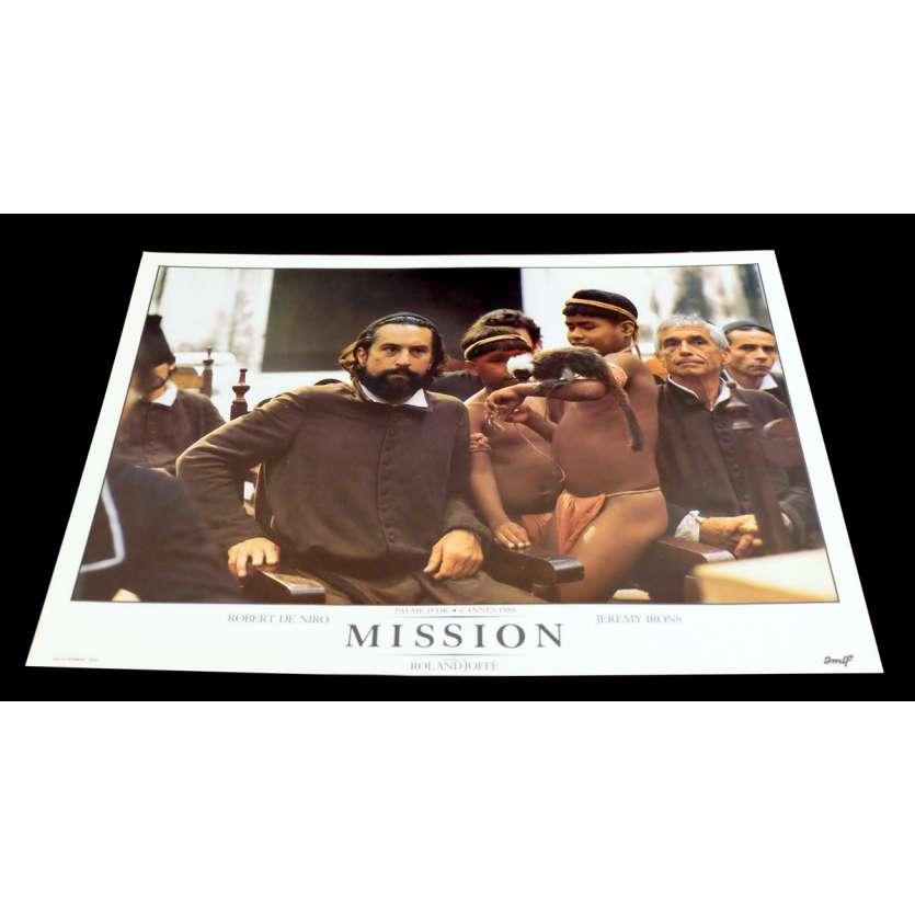 MISSION Photo Luxe 9 30x40 - 1986 - Robert de Niro, Roland Joffé