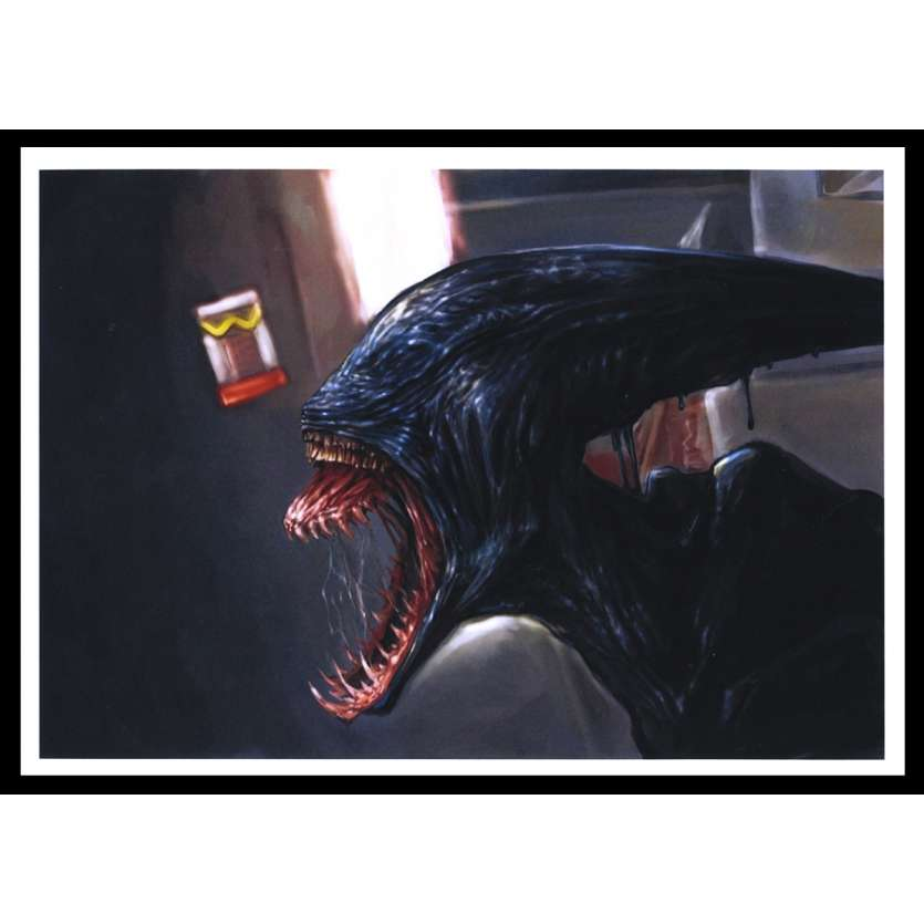 PROMETHEUS English Concept Art 2 9x12 - 2012 - Ridley Scott, Michael Fassbender