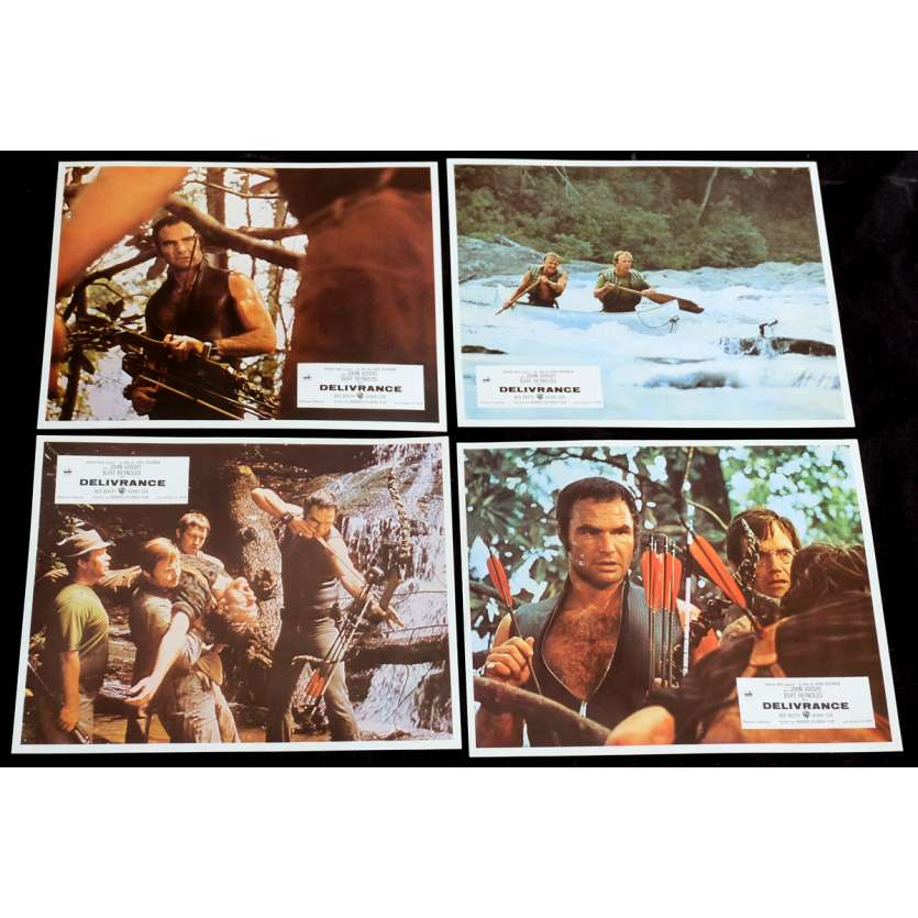 DELIVERANCE French Lobby Cards x8 9x12 - 1972 - John Boorman, Burt Reynolds
