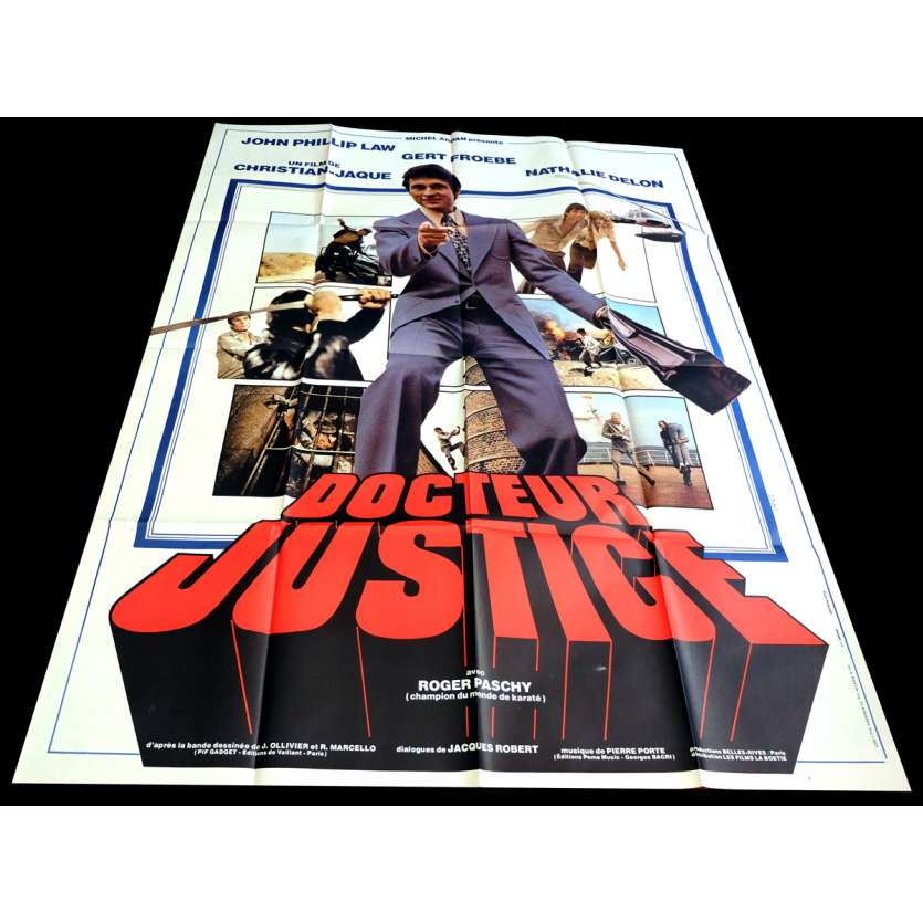 DOCTEUR JUSTICE French Movie Poster 47x63 - 1975 - Christian Jacque, John Phillip Law