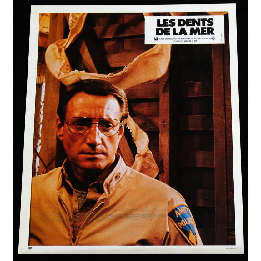 LES DENTS DE LA MER Photo de film 1 21x30 - 1975 - Roy Sheider, Steven Spielberg