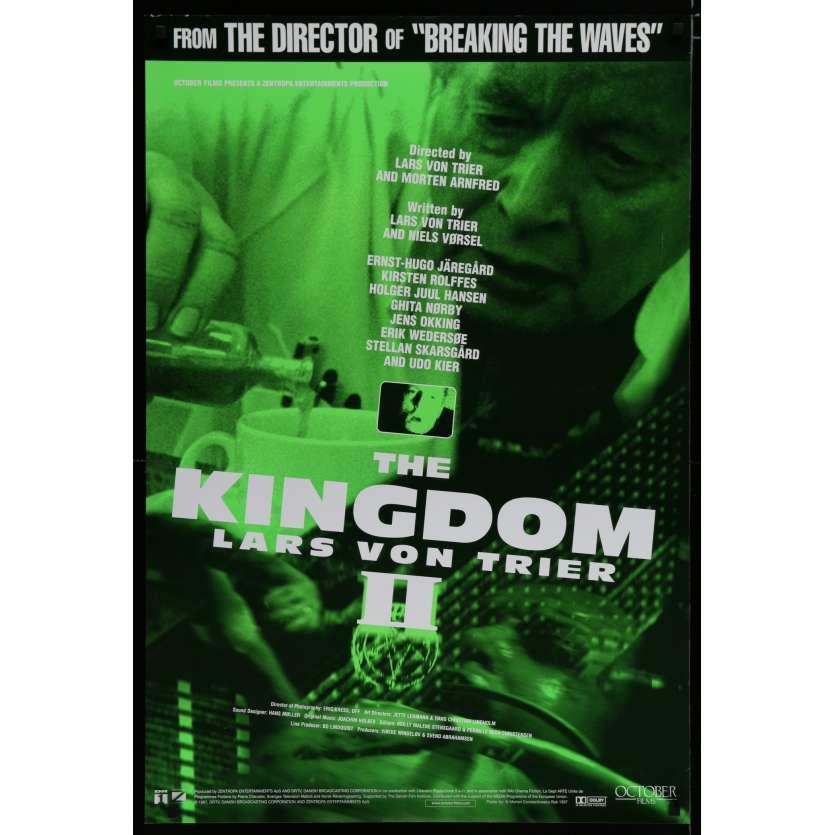 KINGDOM II US Movie Poster 29x41 - 1997 - Lars Von Trier, Ernst-Hugo Jaregard
