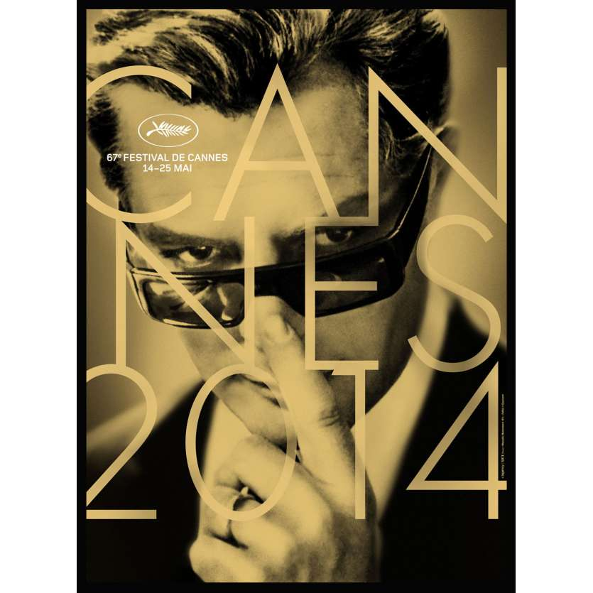 FESTIVAL DE CANNES 2013 Official poster, Paul Newman, Joanne Woodward NEW