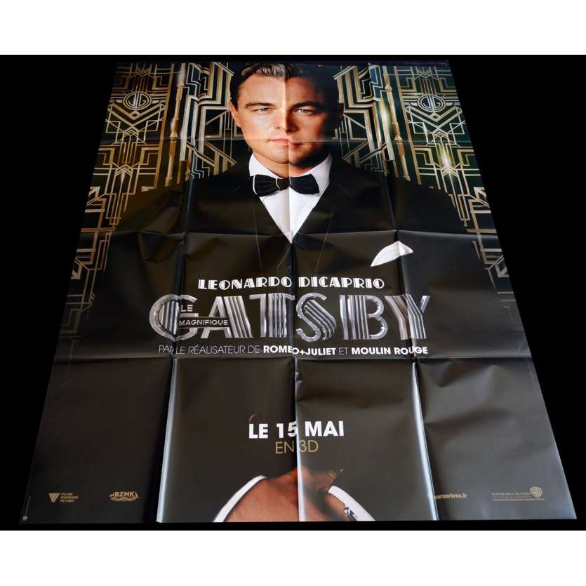 GATSBY French Movie Poster 47x63 - 2013 - Baz Luhrmann, Leonardo Dicaprio