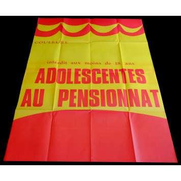 ADOLESCENTES AU PENSIONNAT Affiche de film 120x160 - 1979 - Jean-Pierre Armand, Gérard Gregory