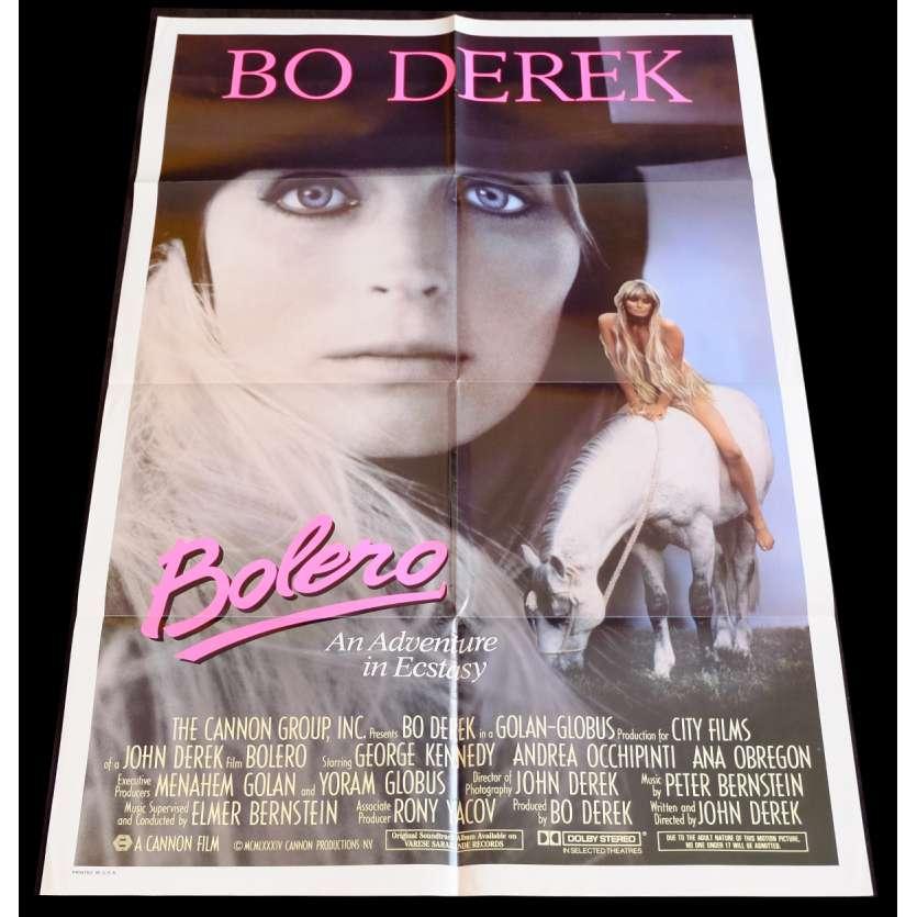 BOLERO US Movie Poster 29x41 - 1983 - John Derek, Bo Derek