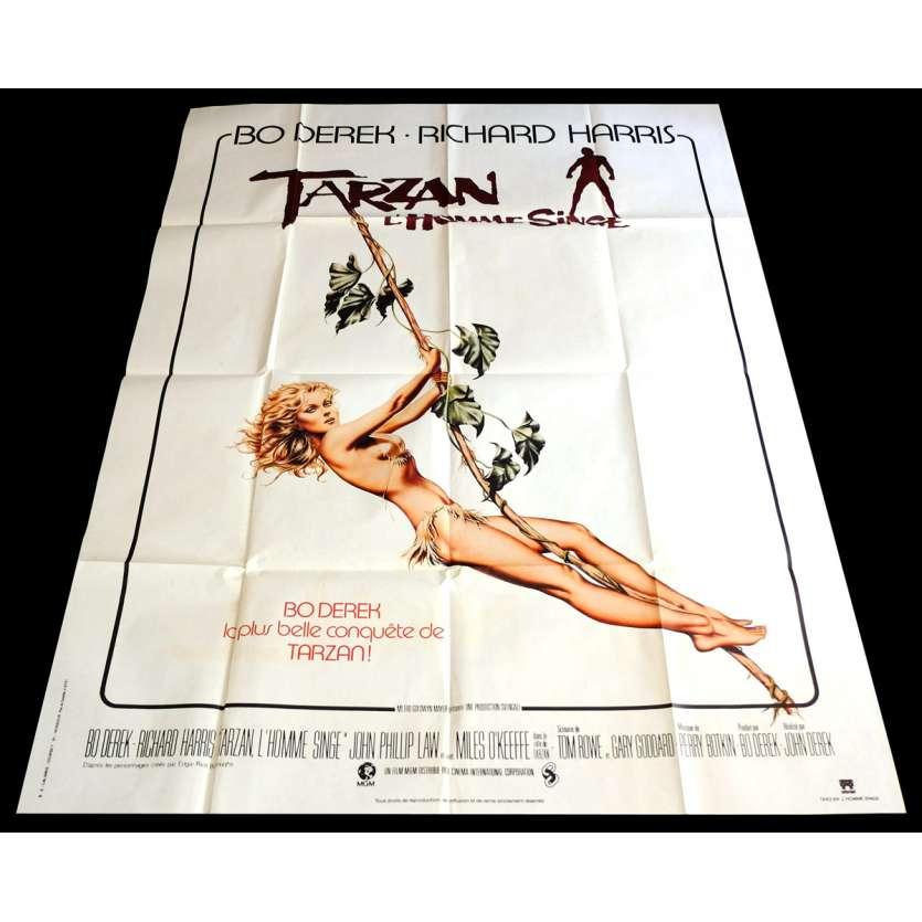 TARZAN L'HOMME SINGE Affiche de film 1 120x160 - 1981 - Bo Derek, John Derek