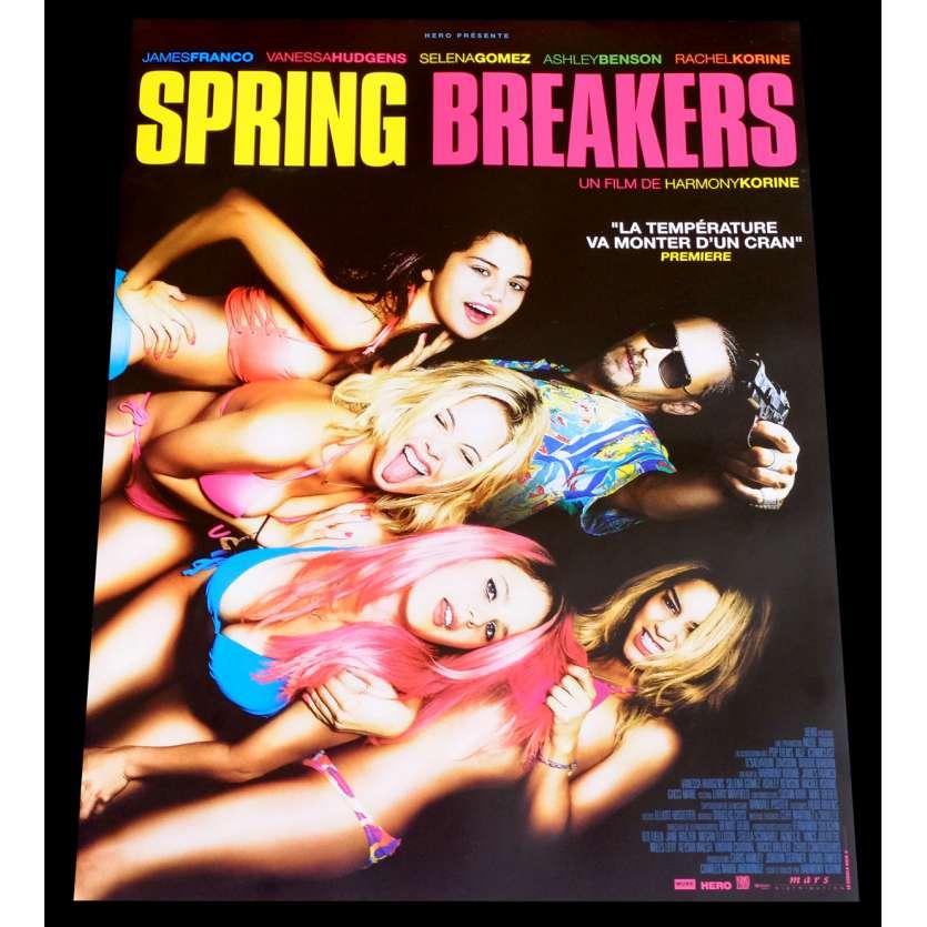 SPRINGBREAKERS Affiche de film 40x60 - 2014 - James Franco, Harmony Korine