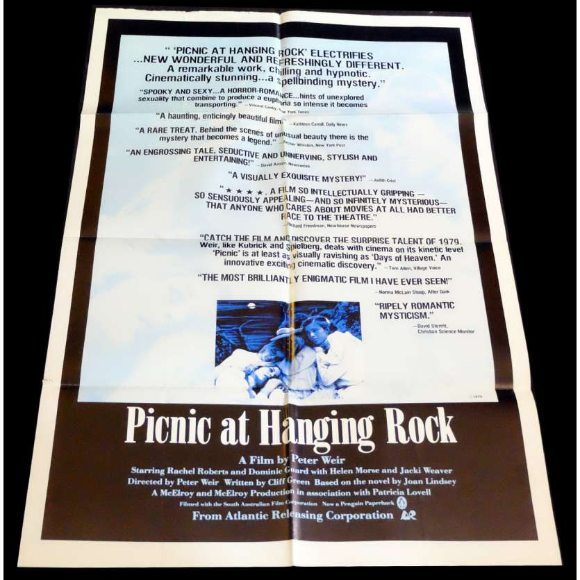 PICNIC AT HANGING ROCK US Movie Poster 29x41 - 1975 - Peter Weir, Rachel Roberts