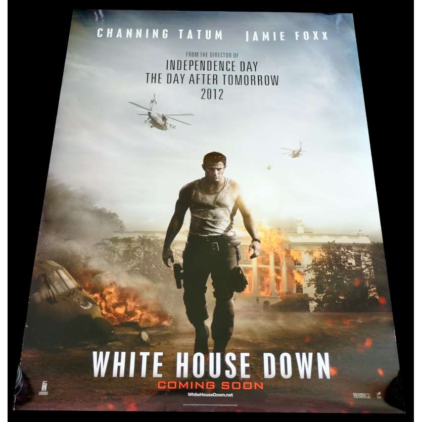WHITE HOUSE DOWN US Movie Poster 29x41 - 2013 - Roland Emmerich, Channing Tattum