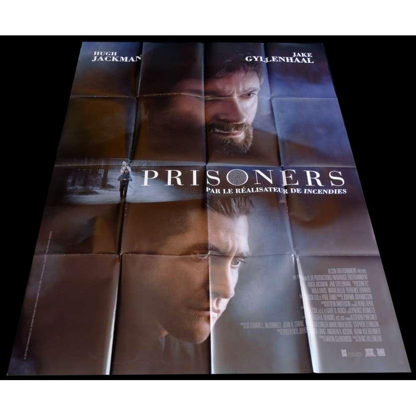 PRISONNERS Affiche de film 120x160 - 2014 - Hugh Jackman, Denis Villeneuve