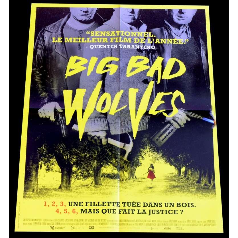 BIG BAD WOLVES Affiche de film 40x60 - 2013 - Lior Ashkenazi, Aharon Keshales