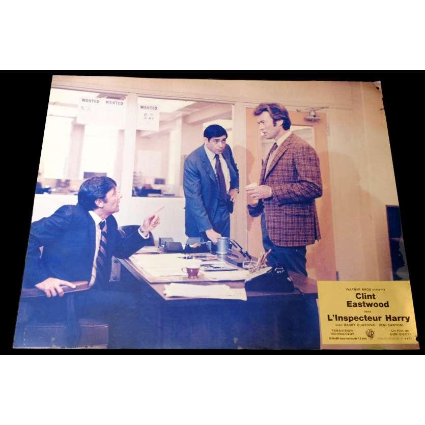 DIRTY HARRY French Lobby Card 12x15 - 1971 - Don Siegel, Clint Eastwood