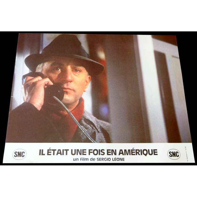 ONCE UPON A TIME IN AMERICA French Lobby Card 4 9x12 - 1984 - Sergio Leone, Robert de Niro