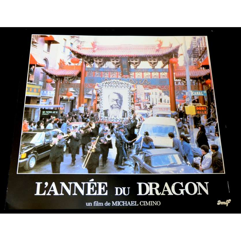 YEAR OF THE DRAGON French Lobby Card 1 12x15 - 1985 - Michael Cimino, Mickey Rourke